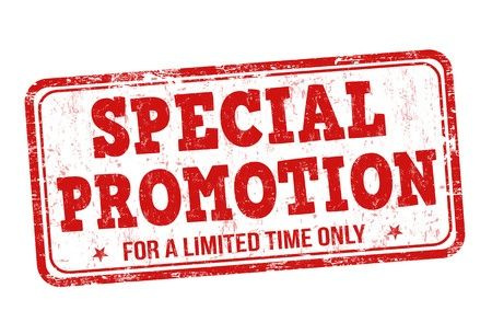 PROMO SPECIAL REOUVERTURE!